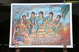 State Gallery of Art Bathukamma Event