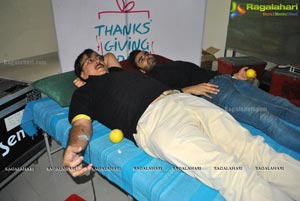 Neeru's Thanksgiving Day Blood Donation Camp