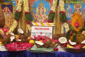 Karthik Raju-Mishti Chakraborty Film Muhurat