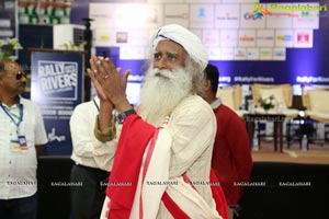 Rally For Rivers Event Sadhguru