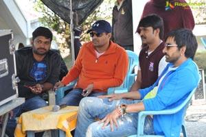 Raja The Great Working Stills
