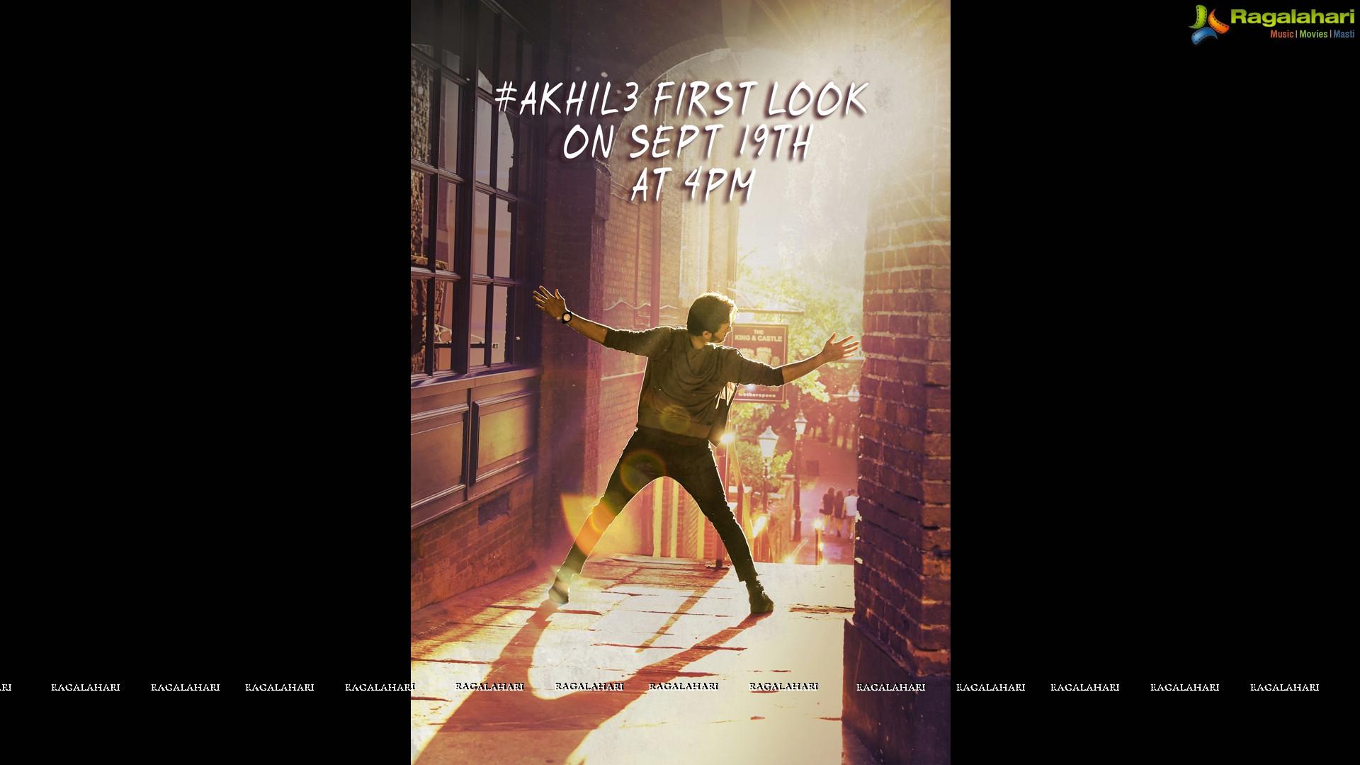 Akhil - Venky Atluri - SVCC Film Posters