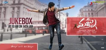 Mr Majnu Jukebox Poster