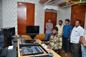 Khaidi Songs Recording