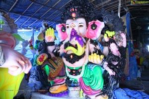 Hyderabad Ganesh Idols 2018