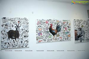 Aalankritha Paintings Exhibition 'Complementary Conflicts'