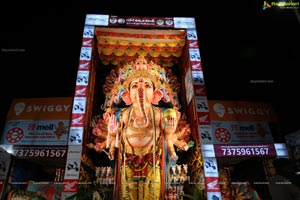 Ganesh Chaturthi 2019 Celebrations at Khairatabad