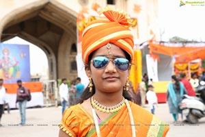 Ganesh Immersion Procession at Charminar