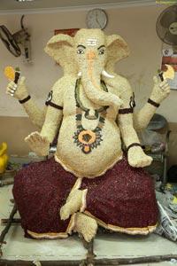 Hyderabad's Ganesh Festival Idols