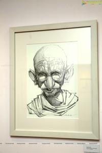 Mahatma 150 Drawings