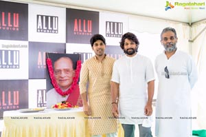 Allu Family Inaugurates Allu Studios