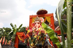 Ganesh Nimajjanam 2020 in Hyderabad