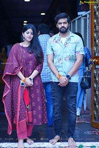 Dear Megha Movie Promotional Tour in Vijayawada