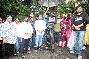 Tanishq Reddy, Ankita Sahu, AV Creative Arts Film Opening