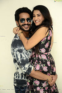 Rashi Singh-Vijay Raja Stills at Gem Movie Press Meet