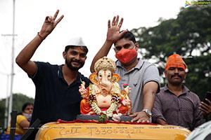 Ganesh Nimajjanam 2021 at Tank Bund