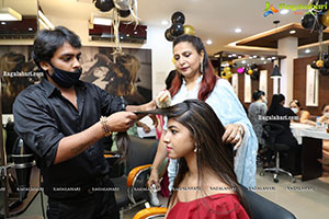 Neeldavid's Salon Launch at P &T Colony
