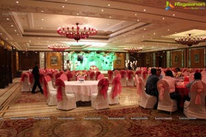 Kushboo-Harsh Agarwal Engagement Functions at Taj Krishna