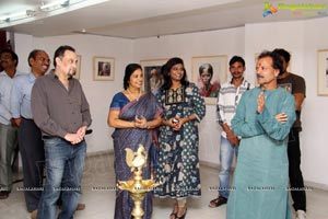 Rajkumar Sthabathy Water Paintings