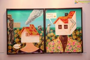 Shalini-Dia Bhupal Art Exhibition